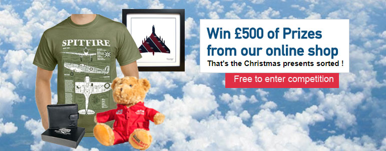 Our competition to win £500 worth of goodies from our online shop has now closed.