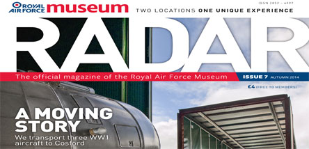 Autumn 2014 Edition of RADAR published