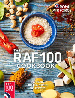 RAF100 Cookbook Competition Winners Named