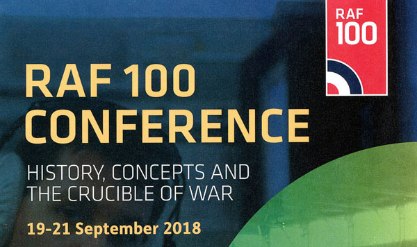 Tickets now available for RAF100 Conference