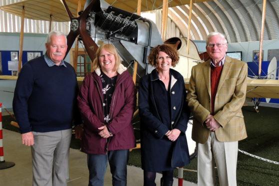 Ron Morris, Chairman MASCH, Clare Carr, RAFM, Maggie Appleton, CEO RAFM, Alan Doe MASHC