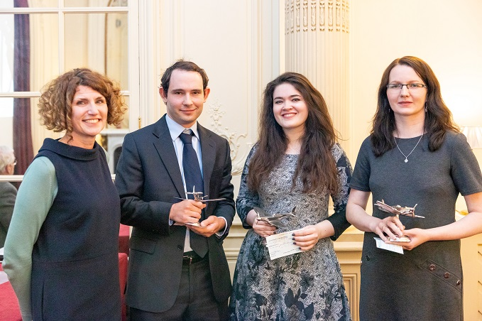 Winners of the RAF Museum's Centenary Academic Awards