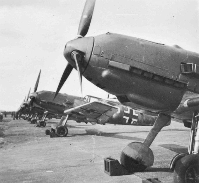 Messerschmitt Bf 109E's of the German air Force, n.d.