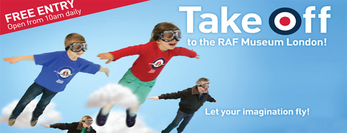 Take Off to the RAF Museum this Half Term!