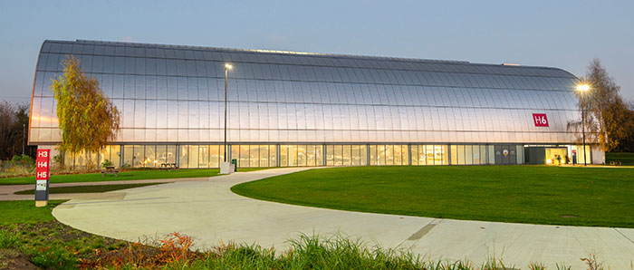 Hangar 6 at our London Site
