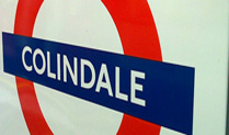 Colindale Underground Station