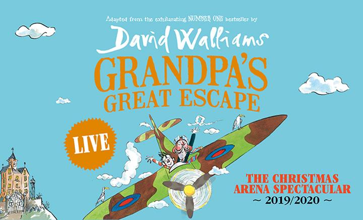 Win a Family Ticket to See Grandpa's Great Escape