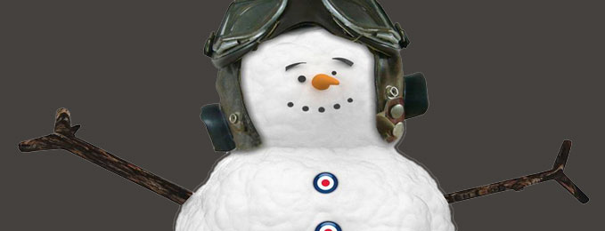 Our Roundel Snowman