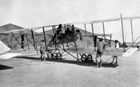Maurice Farman Shorthorn, RFC Aboukir Egypt, 1917