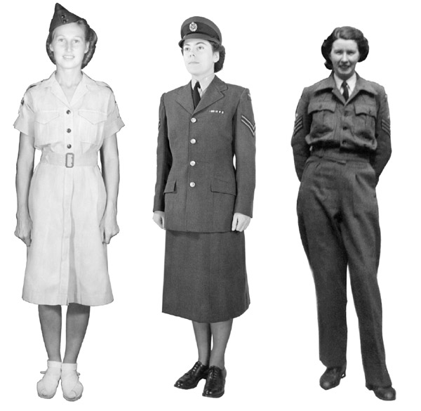 All the same buttons | Women of the Air Force | Online