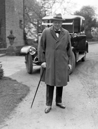 One should recognise Churchill's demands for re-armament were not intended towards war. He felt the carnage of the First World War was terrible and should not be repeated. © CEB