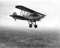 In 1934 the RAF's most modern fighter was the 220mph two-gun Hawker Fury biplane. © CEB