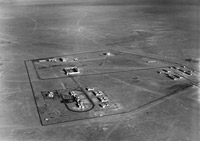 Aerial view of Abu Sueir aerodrome, Egypt 1939
