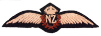 Pilots Wings: Royal New Zealand Air Force