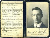 Mr Frederick Phillip Raynham aviator's certificate 1911