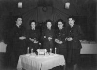 WAAFs celebrating their 21st birthday