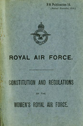 Royal Air Force - Constitution and Regulations