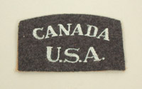 Eagle Squadron USA/Canada shoulder flash