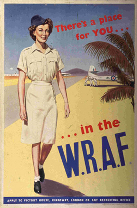 Wraf And Waaf Recruitment Posters