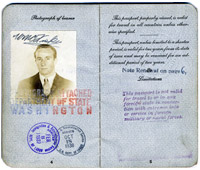 Passport of William Fiske