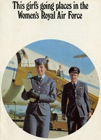 Recruitment pamphlet for the Women's Royal Air Force