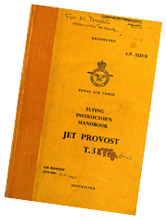 Flying instructor's handbook for the Jet Provost