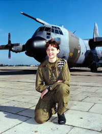 Flight Lieutenant Julie Ann Gibson