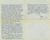 Letter from Mr F.W. John Kemp to Miss Freda Powell, Civil Flying Training College, Desford, 19 June 1937