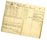 Pilot's flying log book of Captain James Thomas Byford McCudden, 1916-1917