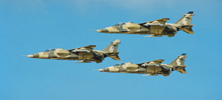 SEPECAT Jaguars of the Sultan of Oman's Air Force