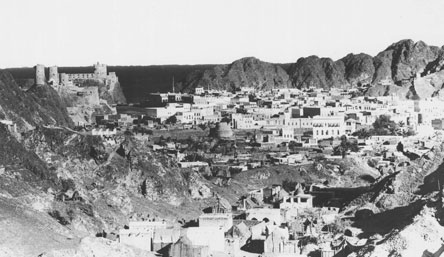 Muscat from the hills circa 1930