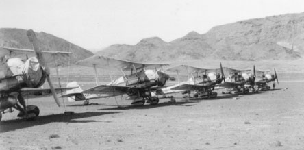Vickers Vincents of No. 84 Squadron at Khorgharim c. 1935