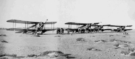 Westland Wapatis of No.55 Squadron RAF on Masirah Island