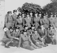 WRAF personnel on an administration course at RAF Hawkinge, 1950