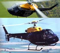 Westland Wessex and Eurocopter Squirrel
