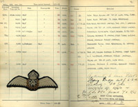 Pilot's Flying Log Book of Group Captain Frank D. Tredrey, 1926-1972