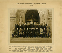 Attendees of the Air Training Conference, Ottawa, Canada 1939