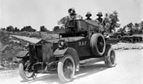 Armoured car unit