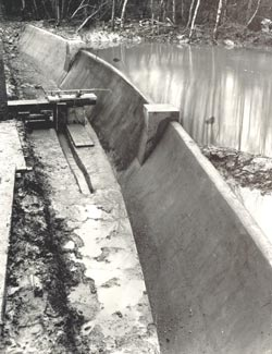 Dam model in Bricket Wood