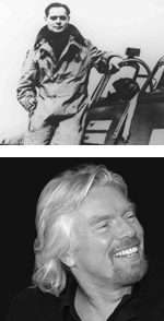 Douglas Bader and Richard Branson