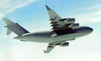 A C-17 Globemaster, just one of the many types a multi-engine pupil might fly operationally