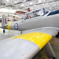Interactive training trail at RAF Museum Cosford