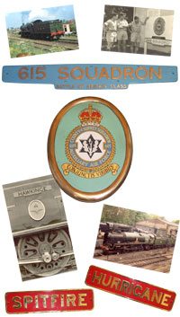 A montage of Loco plates and photographs