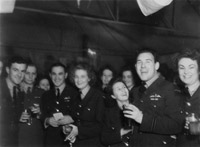 RAF station dance, Bradwell Bay 1944