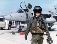 The result of months of training: A frontline RAF pilot circa 1990