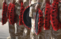 Remembrance Day poppy © Crown Copyright