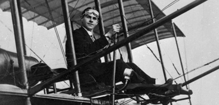 Hubert Allen: Learning to fly at Hendon