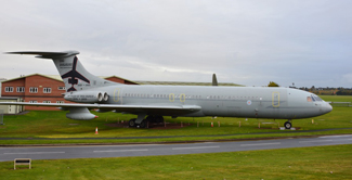 VC10 on display at Cosford 2015
