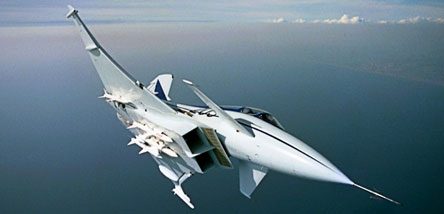 BAE Systems' Experimental Aircraft Programme in flight