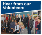 Hear from our Volunteers